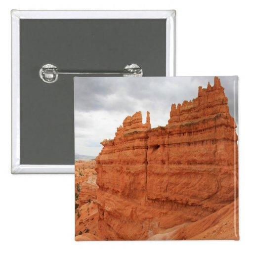 Thor's_Hammer_Bryce_Canyon_Utah, Estados Unidos Pin Cuadrada 5 Cm