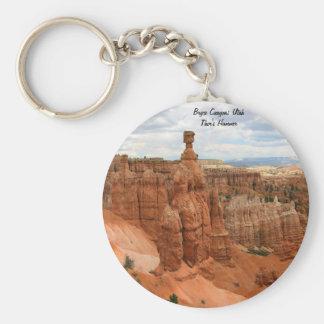 Thor's_Hammer_Bryce_Canyon_Utah, united States Basic Round Button Keychain