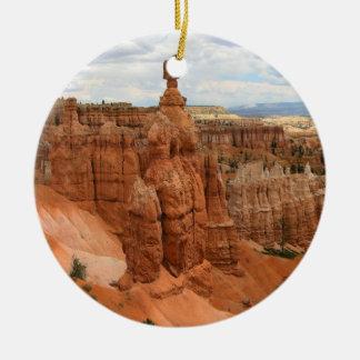 Thor's Hammer Bryce Canyon Utah, united States Ceramic Ornament