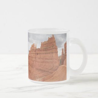 Thor's_Hammer_Bryce_Canyon_Utah, united States Frosted Glass Coffee Mug