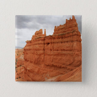 Thor's_Hammer_Bryce_Canyon_Utah, united States Pinback Button