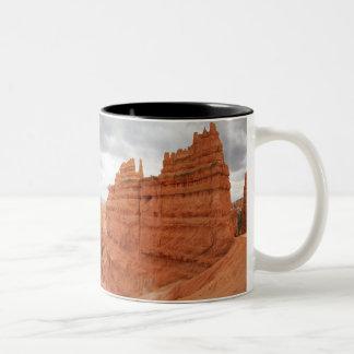 Thor's_Hammer_Bryce_Canyon_Utah, united States Two-Tone Coffee Mug