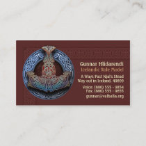 Thor's Hammer Business Cards