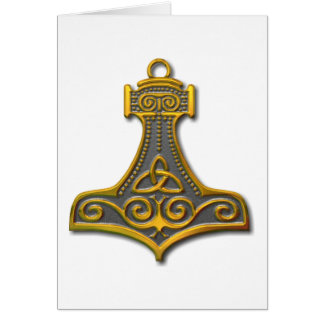 Thor's Hammer-gold Card