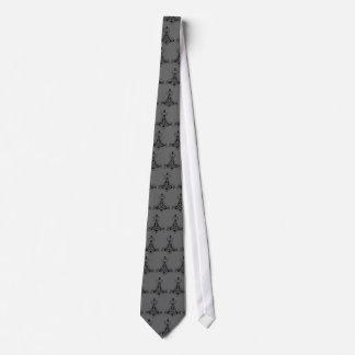 Thors Hammer Grey Neck Tie