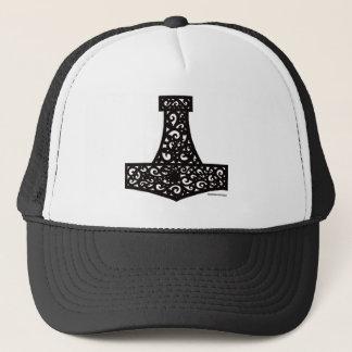 Thors Hammer in Black Trucker Hat