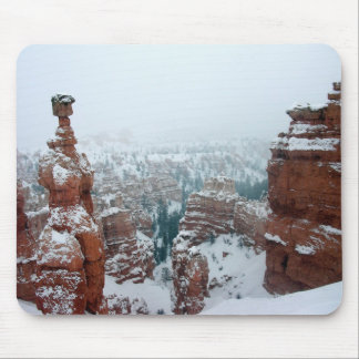 Thor's Hammer in Snow Mouse Pad