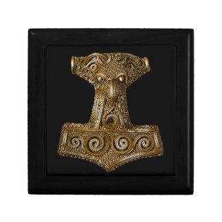 Thor's Hammer-Mjölnir in Brass -Gift Box