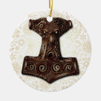 Thor's Hammer-Mjölnir in Copper - Ornament