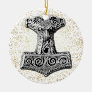 Thor's Hammer-Mjölnir in Silver - Ornament