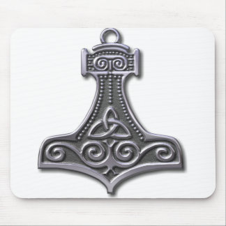 Thor's Hammer-silver Mouse Pad