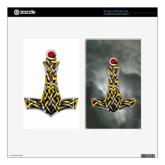 Thor's Hammer Skins For Kindle Fire