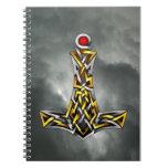 Thor's Hammer Spiral Notebooks
