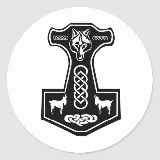 Thor's Hammer Stickers