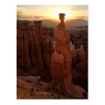 Thors  Hammer Sunrise Postcard