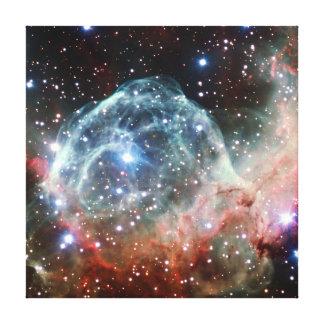 Thor's Helmet Nebula Space Stretched Canvas Prints