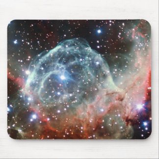 Thor's Helmet Nebula Space Mouse Pad