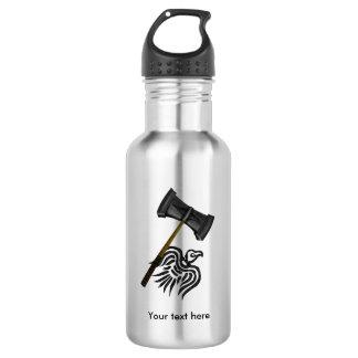 Thor's Viking Battle Hammer Stainless Steel Water Bottle