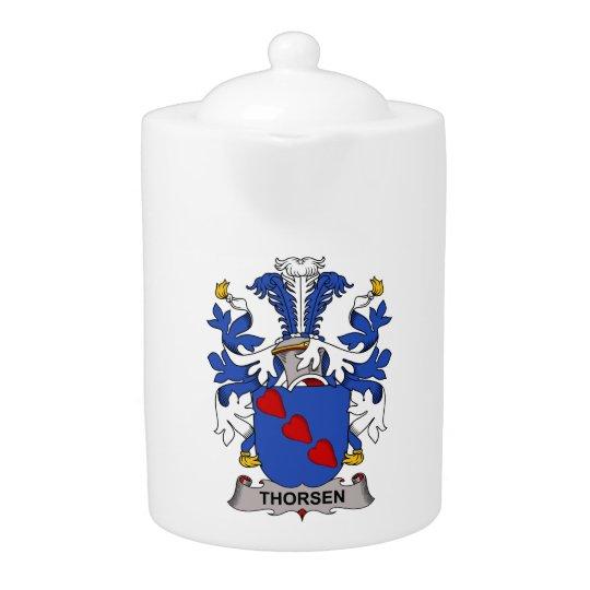 Thorsen Family Crest Teapot