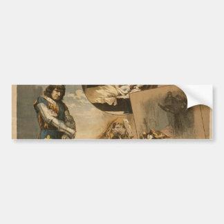 Thos .W. Keene, 'Richard III' Vintage Theater Car Bumper Sticker