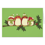 Those Birds in Winter Greeting Cards