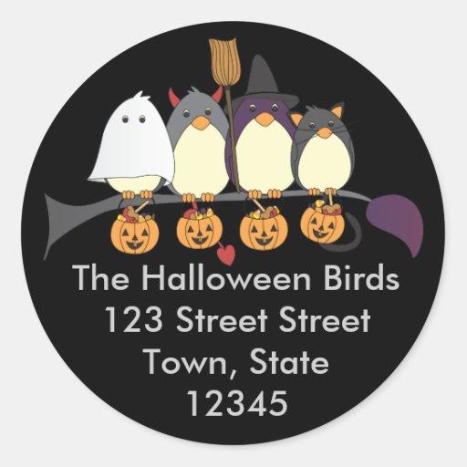Those Birds on Halloween Sticker