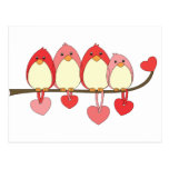 Those Birds On Valentines DAy Post Cards