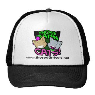 Those Darn Cats Trucker Hat