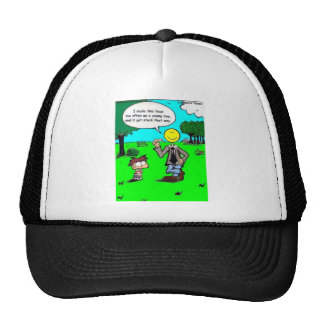 Those Happy Faces Offbeat Cartoon Gifts & Tees Trucker Hat