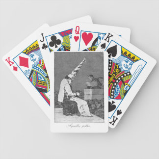 Those Specks of Dust by Francisco Goya Bicycle Playing Cards