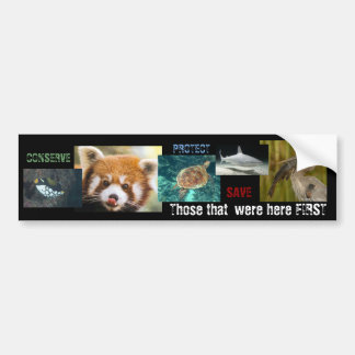 Those that came First Bumper Sticker