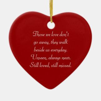 Those We Love - Heart Ornament