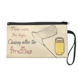 Those were the days - Chasing after the fireflies Wristlet Purse