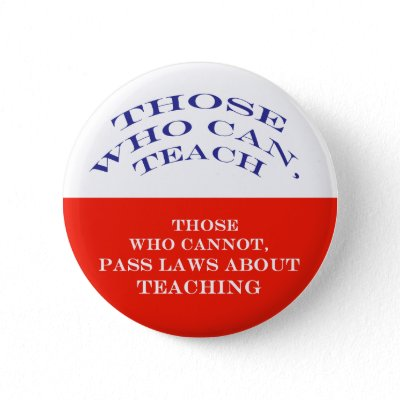 Those Who Can Pinback Button by LaurisB