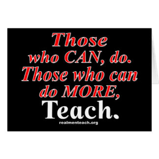 Those who can do MORE.. Card