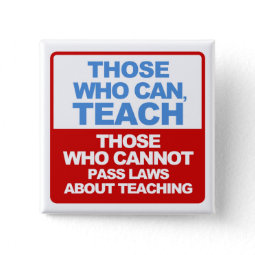 Those Who Can, Teach - Buttons button