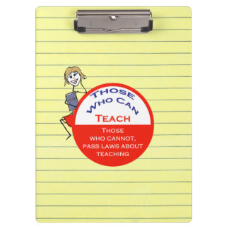 Those Who Can Teach Clipboard