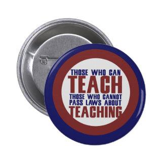 Those who can teach pins