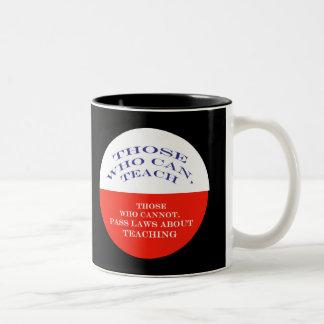 Those Who Can Two-Tone Coffee Mug