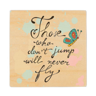 Those Who Dont Jump Will Never Fly Wood Coaster