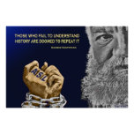 "Those Who Forget Deaf History Are Doomed (35""x23"") Print"