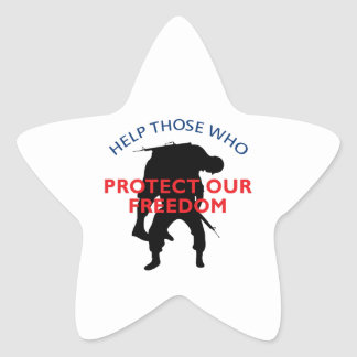 THOSE WHO PROTECT STAR STICKER