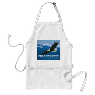 Those Who Wait On The Lord Adult Apron