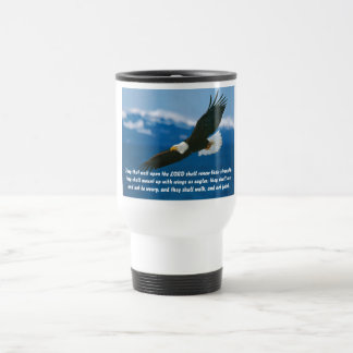 Those Who Wait On The Lord 15 Oz Stainless Steel Travel Mug