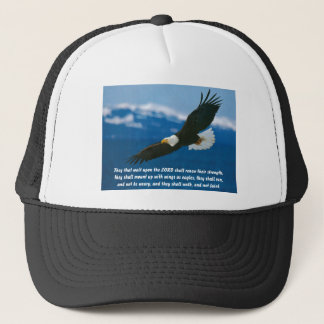 Those Who Wait On The Lord Trucker Hat
