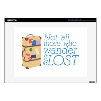 """Those Who Wander Decal For 15"""" Laptop"""