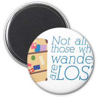 Those Who Wander Magnet