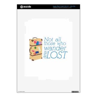 Those Who Wander Skin For iPad 3