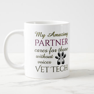 Those Without Voices Partner Vet Tech Giant Coffee Mug