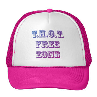 THOT Free Zone Trucker Hat